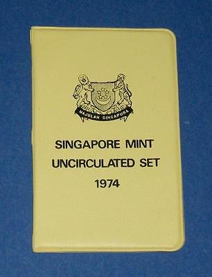 1974 Singapore Uncirculated Set