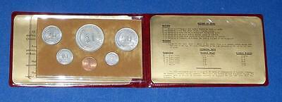 1976 Singapore Six Coin Uncirculated Set