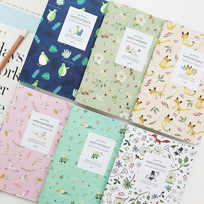 1x Cute Willow Story Notebook Notepad Lined or Grid School Supplies Stationery
