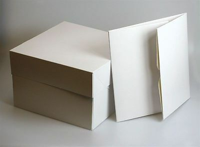 "11"" 11 inch CAKE BOX BOXES - PACK OF 5 - FAST NEXT DAY DISPATCH"