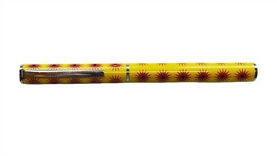 Acme Studio Pens Sole Yellow Rollerball Pen Limited Ed
