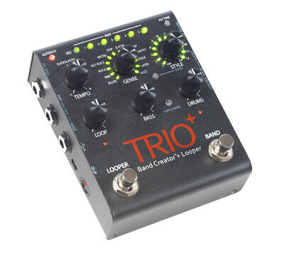 DigiTech TRIO+ Advanced Band Creator & Looper Guitar Effects Pedal DIG0176