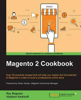 Magento 2 Cookbook by Ray Bogman (English) Paperback Book Free Shipping!