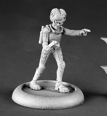 Reaper Miniatures ALIEN OVERLORD WITH TRACKER Chronoscope 50144