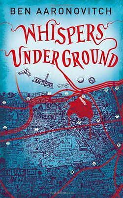 Whispers Under Ground  Ben Aaronovitch Paperback Book 2012