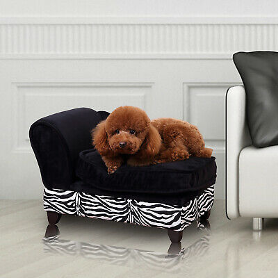 New Pet Sofa, Cat and Dog Couch with Cushion and Storage Option