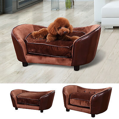 2 Size Pet Sofa Chair Dog Puppy Cat Kitten Soft Couch Bed Mat Cushion Home House