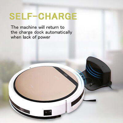 ILIFE V5S Pro Smart Robotic Aspirateur Vacuum Cleaner Cordless Dry Wet Cleaning