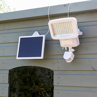 100 Led Solar Power Outdoor Garden Security Motion Sensor Floodlight Spot Light
