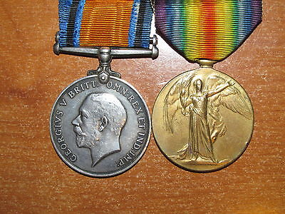 WW1 British Medal Group named Royal West Kent Regiment nice