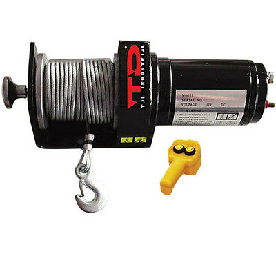 Power ATV Winch 2000 lbs  TJL INDUSTRIAL 10171 (WH08)