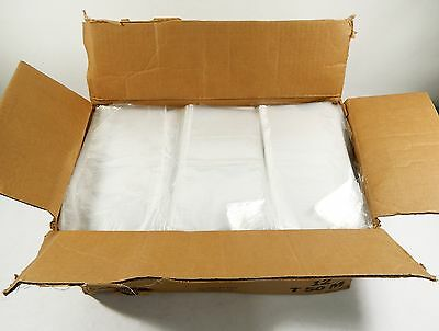 "Case of (9000) Clear Poly 4.5"" x 9.75"" Bags ^ New Retail Merch Storage Packing"
