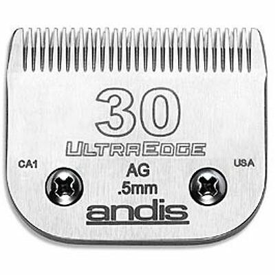 ANDIS 30 CLIPPER BLADE. 0.5mm