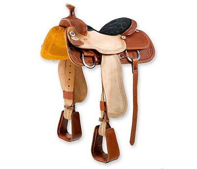 4997 SELLA WESTERN DOUBLE C mod. ROPING M-3050