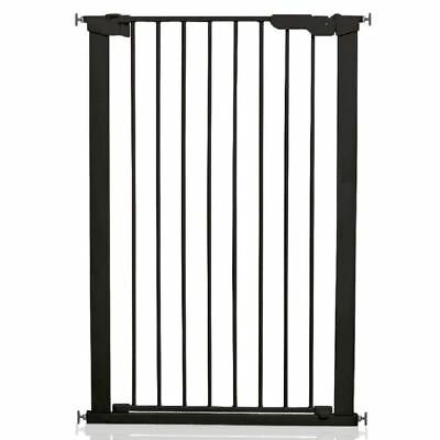 BabyDan Extra Tall Pressure Baby Child Pet Dog Safety Stair Gate Black 73-80cm