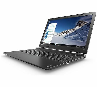 Lenovo Ideapad 100 15.6 Inch 2.58GHz 4GB 500GB Windows 10 Laptop Black (B-Grade)