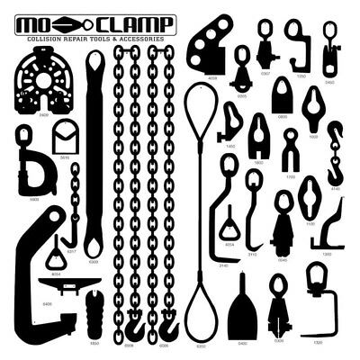 MO Clamp 5014 Deluxe #1 Board & Hooks (Board Only)