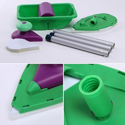 Paint Roller Tray Kit Household Decorative Painting Brush Point Paint Pad Tools#