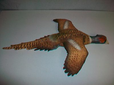 1984 Universal Statuary Corp. PHEASANT BIRD Wall Decoration