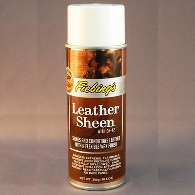 Fiebing's Acrylic Top Finish Smooth Leather Sheen 4Oz/32Oz/1 Gal/11Oz