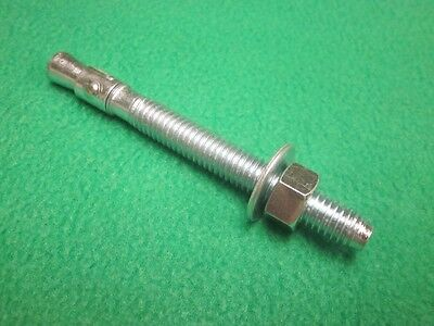 """15 POWER STUD MASONRY CONCRETE CEMENT WEDGE ANCHOR MOUNTING BOLT 1/2"""" x 3-3/4"""""""