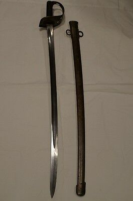 Canadian 1890 Pattern Cavalry Sword Militia and Defence Marked RARE
