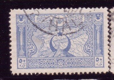 TURKEY;  Ottoman Empire POSTMARK Early 1900s used value,  HALEP
