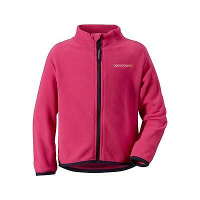 Didriksons Monte Kids Jacket Microfleece bubble gum pink Thermal System