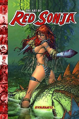 The Art of Red Sonja by Chris Lawrence Hardcover Book (English)