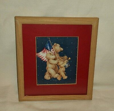 3 Patriotic Teddy Bears picture - Jan Jameson '88