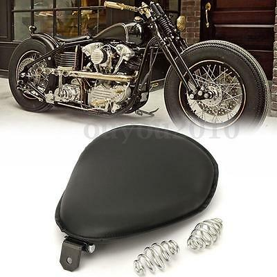 Moto Solo Selle Siège Rond Ressorts Support Pour Harley Sportster Bobber Chopper
