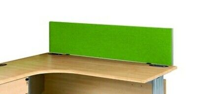 Curved Desk Mounted Privacy Office Screens//Dividers 800-1800mm Wide