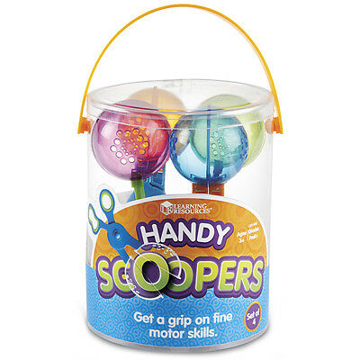Learning Resources Handy Scoopers (4 Pack) NEW