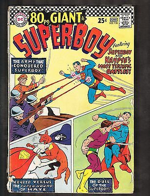 "Superboy #138 ~ ""The Battle of the Robots"" / 80pg. Giant ~ 1967 (4.5) WH"