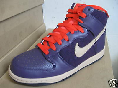 $105 Nike Women Dunk High Premium Red Black Hemp Size Men 8 8.5 CLEARANCE