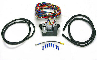 Astounding New Universal 8 Circuit Wire Wiring Harness Street Rat Hot Rod Basic Wiring 101 Photwellnesstrialsorg