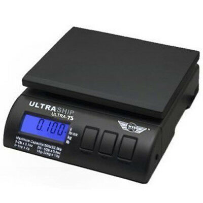 My Weigh Ultraship 75 Black 75lb Capacity Shipping Scale - SCMULTRA75B