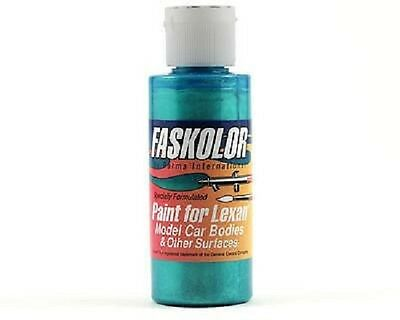 Parma Faskolor FASESCENT TEAL #40155 Airbrush Paint Slot Car 1/24 Mid-America