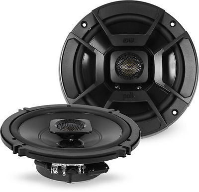 "Polk DB652 200W RMS 6.5"" 2-Way Marine/ATV Certified Coaxial Car Stereo Speakers"