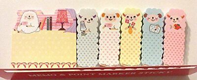 1 X Cute Sheep Animal Sticker Post-it Bookmark Marker Memo Flags Index Tab Notes