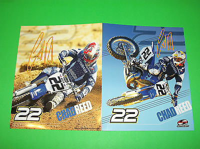 Smooth Industries Yz Yzf 65 80 85 125 250 450 Chad Reed Motocross School Folder