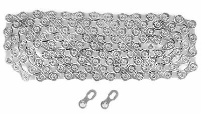 KMC X10.93 10-Speed Bicycle Chain for Shimano Sram Silver 116 Links