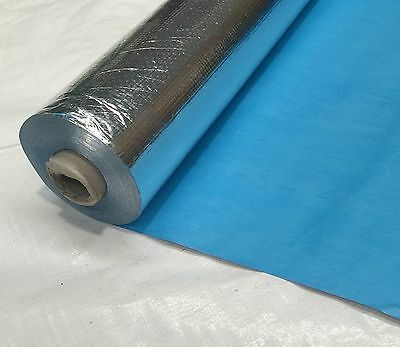 1.35m Wide Heavy Duty Reflective Foil Insulation Wall and Roof Wrap x 30m Length