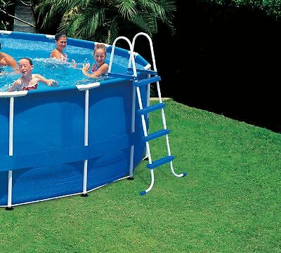 Poolleiter Leiter Quick up Steel Frame Pool 122 cm