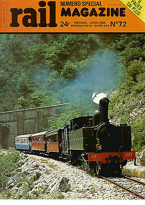 Rail Magazine N°72 Bb 13000 / C.e.f Nord / Rgp Ont Quitte Massif Central / R.e.r