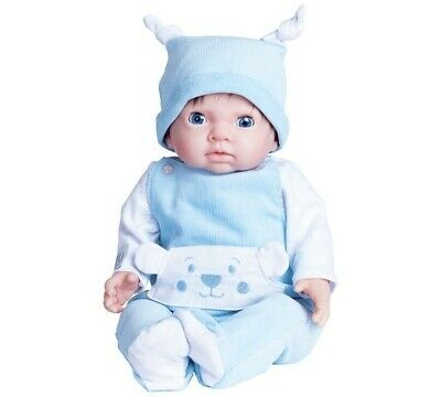 Chad Valley Tiny Treasures  Doll with Blue Outfit & Hat