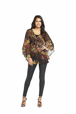 South Printed Tie Back Tunic