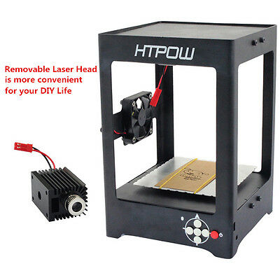 HTPOW 1000mW DIY Alloy Laser Engraver Carver Logo Carving Machine For Engraving