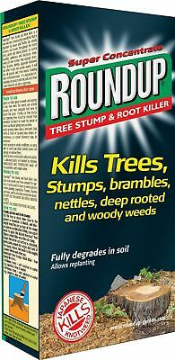 Roundup Tree Stump and Root Killer 250 ml Liquid Concentrate Weedkiller