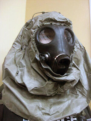 Gas Mask Hood Cover Face Head Protection Paintball Nbc/ Hood Only